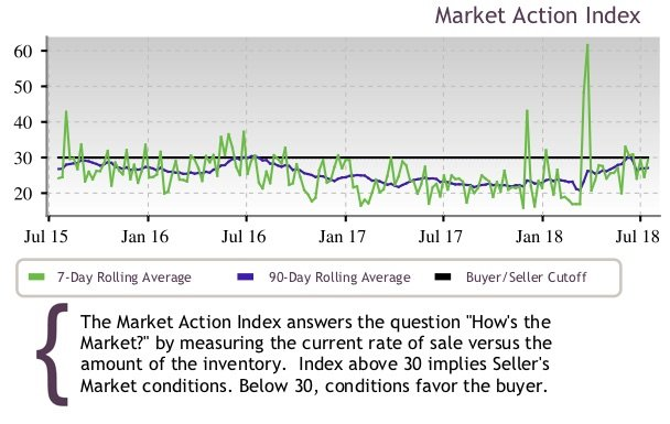 Market Action Index July 25 2018